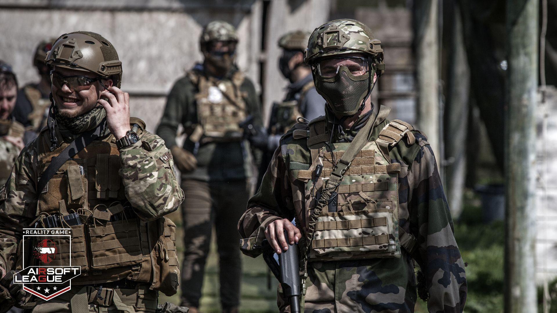 Airsoft - Organisation militaire