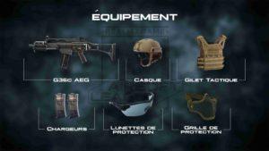 Organisation militaire - Pistolet